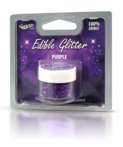 Lebensmittelfarbe Pulver - Glitzer, lila