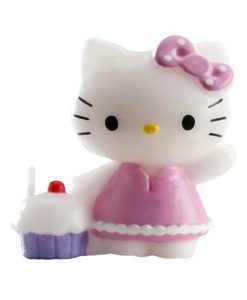 Kuchenkerze Hello Kitty