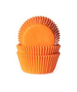 Papierbackförmchen - orange