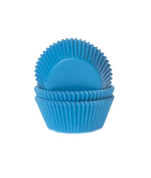 Papierbackförmchen - blau