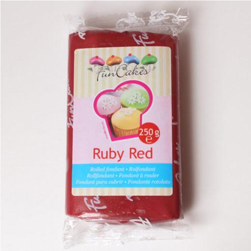 Rollfondant - rubin rot