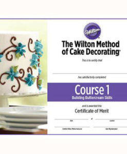 The Wilton Method - Kurs 1 - Zertifikat