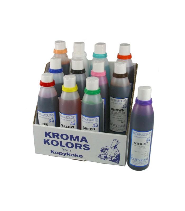 Kroma Airbrush Lebensmittelfarben Set