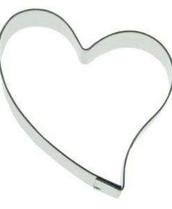 Ausstecher - Herz, geschwungen