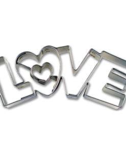 Ausstecher - Love