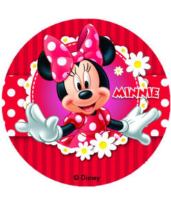 Tortenaufleger - Minnie Mouse