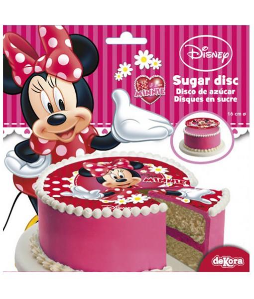 Tortenaufleger - Minnie Mouse