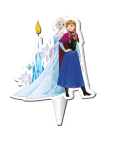 Kuchenkerze Frozen