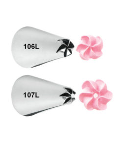 Wilton Spritztülle - Set Linkshänder (#106L, #107L)