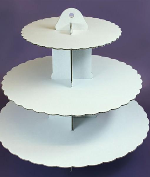 Cupcake Ständer - weiss