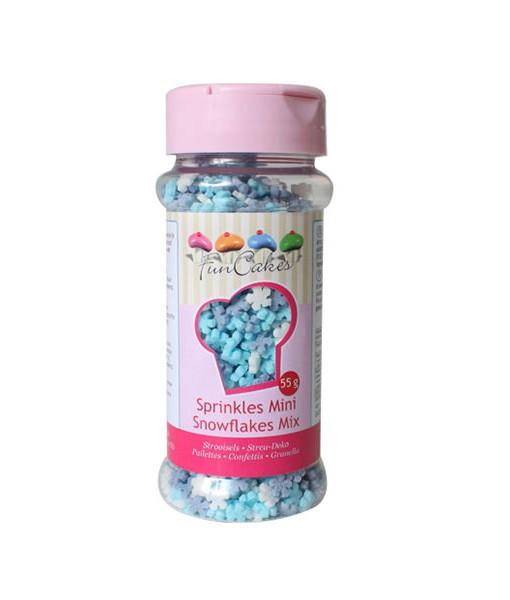 Streudekor - Schneeflocken Mix, mini