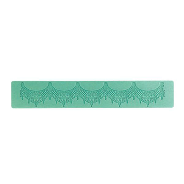 Magic Decor - Silikonmatte Essbare Spitze Baroque, klein
