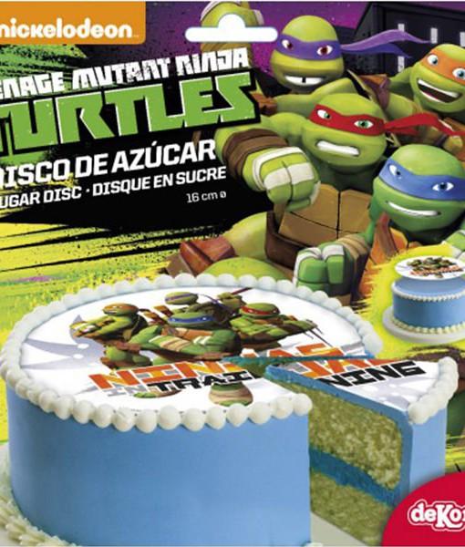 Tortenaufleger Ninja Turtles