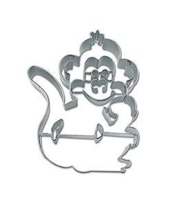 Ausstecher - Affe