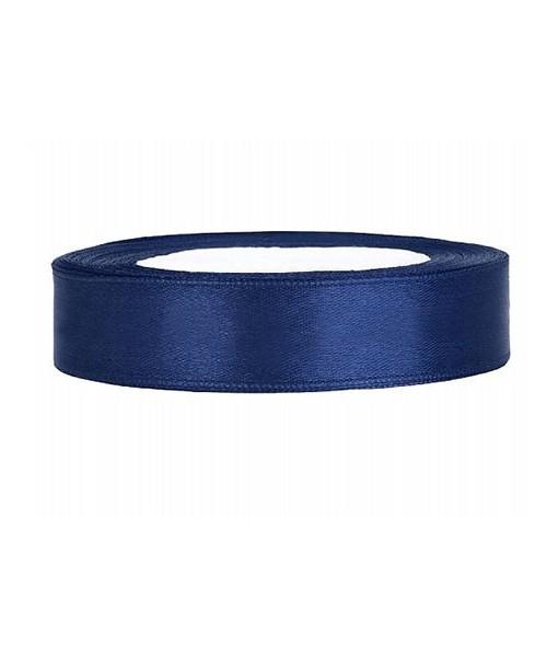 Satinband - blau, 12mm