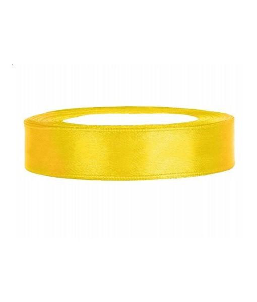 Satinband - gelb, 12mm