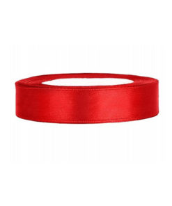 Satinband - 12mm (rot)
