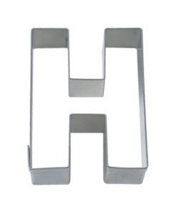 Ausstecher - Buchstabe H