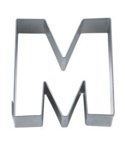 Ausstecher - Buchstabe M