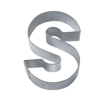 Ausstecher - Buchstabe S