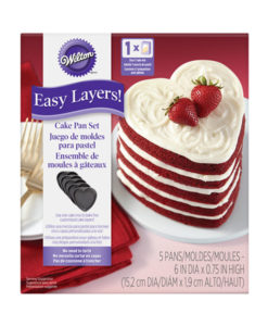 Backform - Easy Layers Herz von Wilton