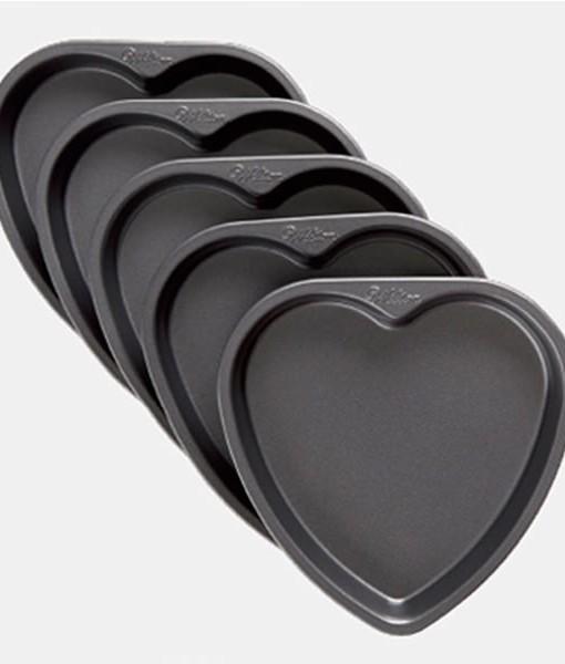 Backform - Easy Layers Herz von Wilton