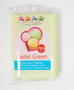 Rollfondant - grün (Pastell)