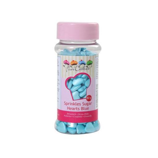 udekor - Zuckerherzen, blau