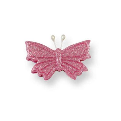 Zuckerdekor - Schmetterlinge, pink