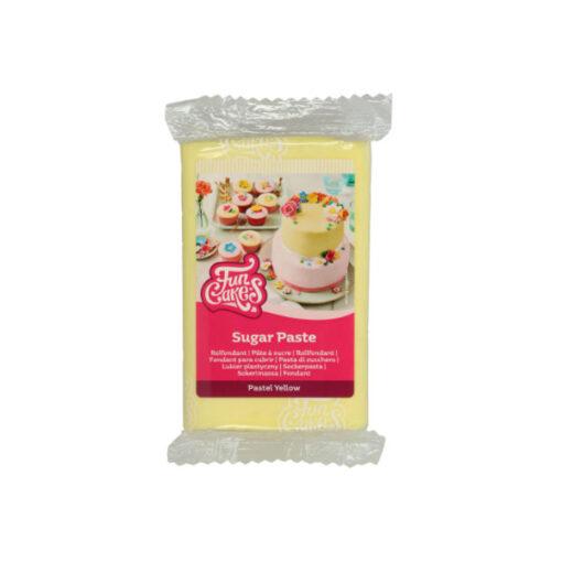 Rollfondant - gelb (Pastell)