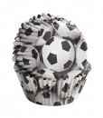 Papierbackförmchen - Wilton Fussball