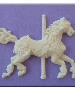 Silikonform - Karusellpferd