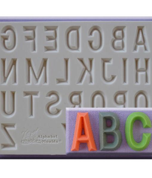Silikonform - Buchstaben A-Z, 21mm
