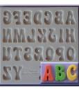 Silikonform - Buchstaben & Zahlen A-Z