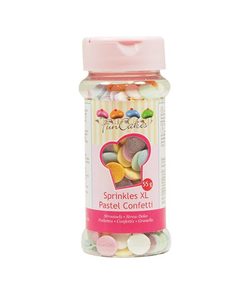 Streudekor - Confetti XL, pastell