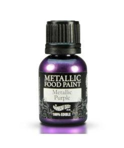 Lebensmittelfarbe - Metallic Lila