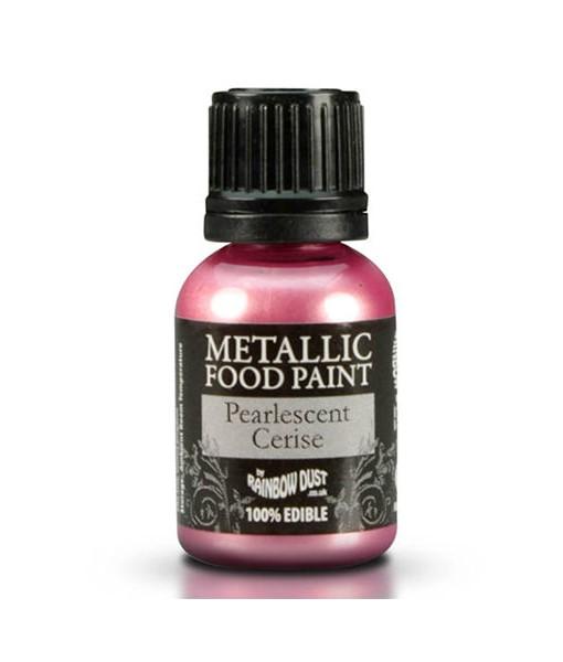 Lebensmittelfarbe - Metallic Cerise