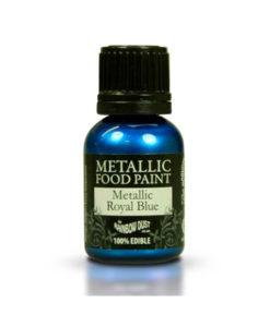 Lebensmittelfarbe - Metallic Blau