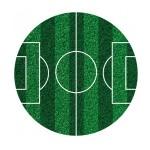 Tortenaufleger - Fussball