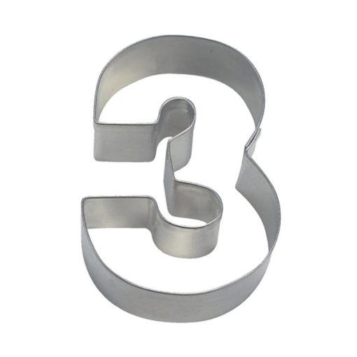 Ausstecher - Zahlenausstecher 3