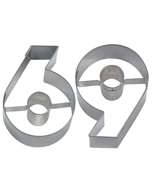 Ausstecher - Zahlenausstecher 6 oder 9