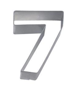 Ausstecher - Zahlenausstecher 7
