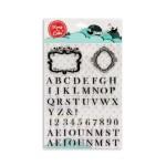 Stamp a Cake - Stempel Rahmen & Buchstaben