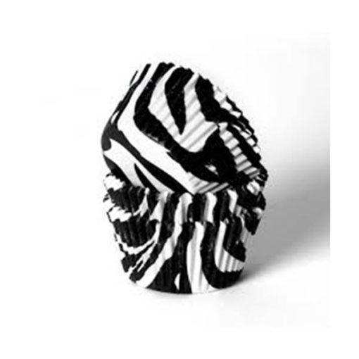 Papierbackförmchen - Zebra