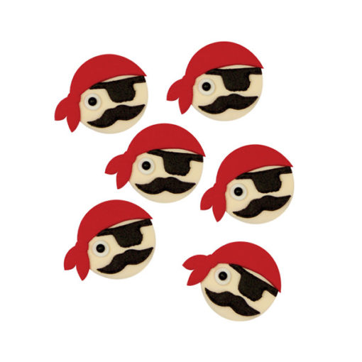 Zuckerdekor - Piraten