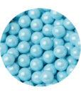 Zuckerperlen - Schokoladenperlen (blau, hell)