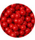 Zuckerperlen - Schokoladenperlen (rot)