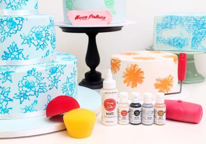 Stamp a Cake - Tablett für Stempelfarbe