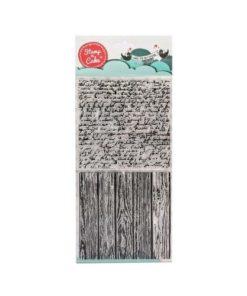 Stamp a Cake - Stempel Holz & Schrift