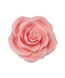 Zuckerrosen Set - pink, hell (63mm)